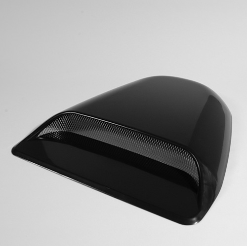 Saas Super Air Flow Bonnet Scoop - Black