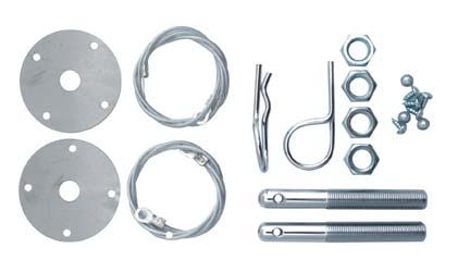 Saas Bonnet Hairpin kit - Pair