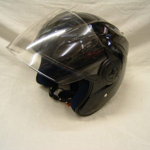 Open face helmet - Black