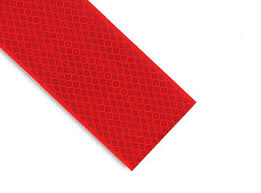 "Reflective Safety Tape - Red 2"" Wide"