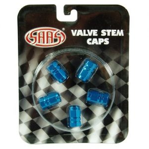 Blue Valve caps set of 5