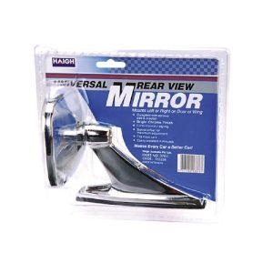 Chrome Rectangular Sports Mirror - Each