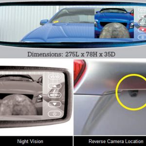 Reversing Camera Mirror Mount