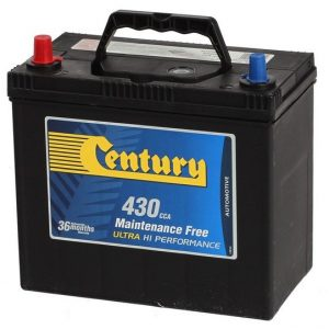 Century Car Batteries NS60 range 11 Plate