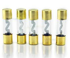 Amplifier Glass Fuses