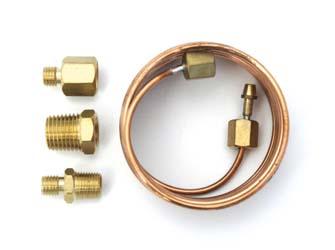 Oil Pressure Gauge Copper Tube Fitting Kit