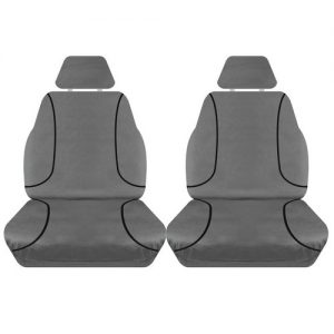Holden Colorado Front Seat Covers Canvas 2012 on