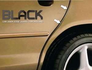 Black Car Door Edging per meter