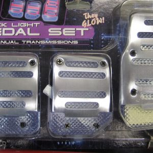 Manual Pedal Pad set Chrome