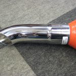 Chrome Exhaust Extension Turned Down End